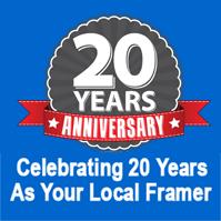 20 Year Frame Store Anniversary