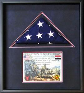 Military Memorabilia Framing