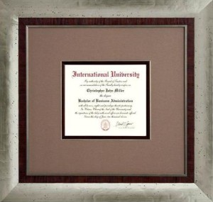 Inver Grove Heights, MN Diploma Frames