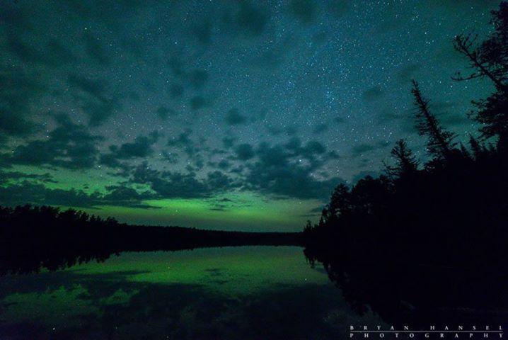 bryan hansel northern lights