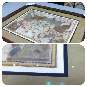 france-map-1618-hand color bevel
