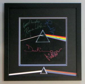 music pink floyd dark side of the moon custom framed