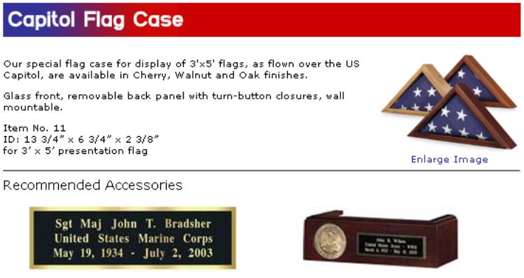 capitol flag case