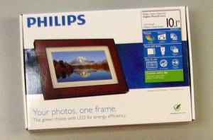 digital photo frame before