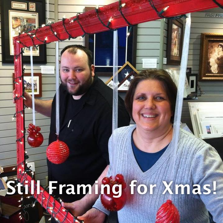 Still Framing for Christmas