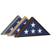 Mendota Heights, MN Wooden Flag Holder