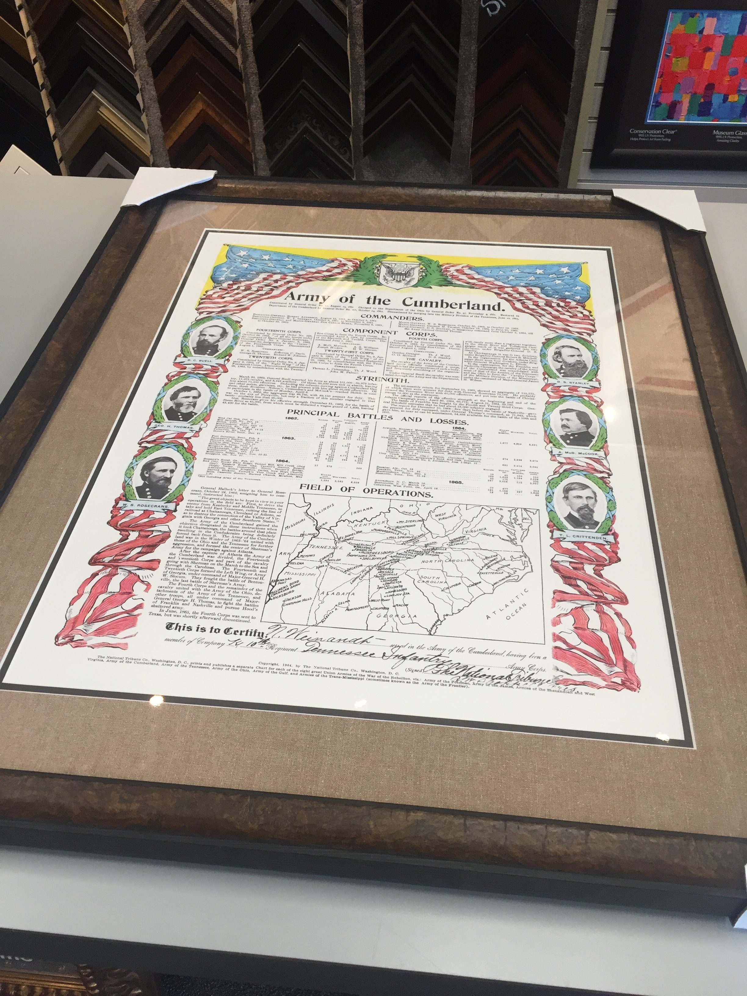 Double Sided Frame