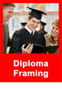 Diploma Framing Service