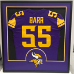 Framed Anthony Barr Jersey