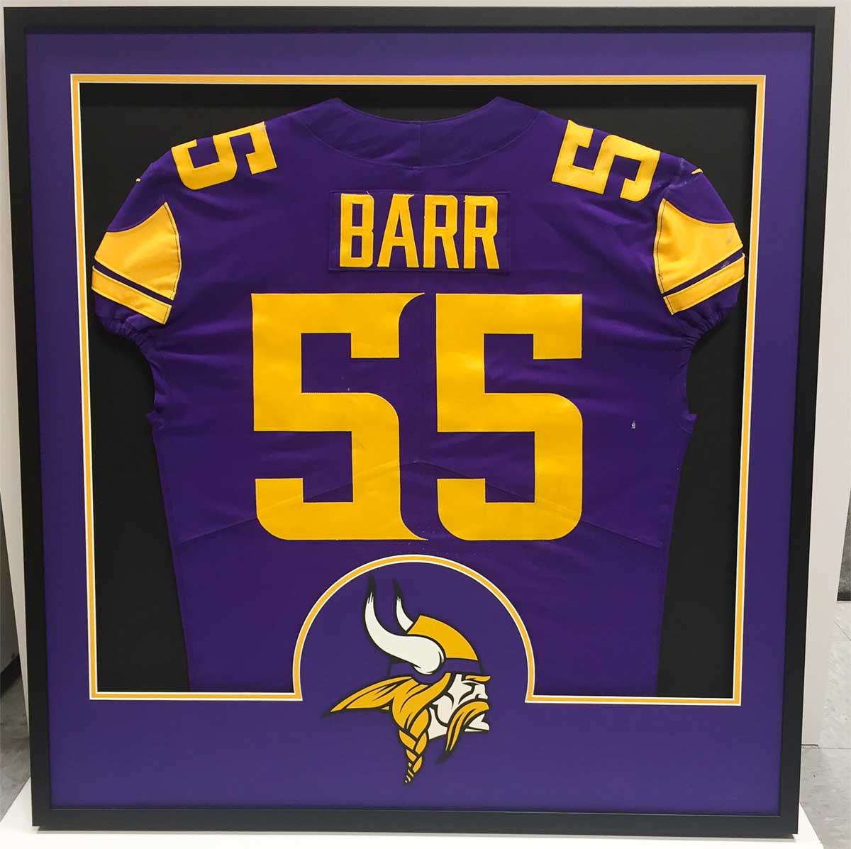 wholesale dealer e078e 094a7 Special Framed Anthony Barr Jersey - For His Mother - by ...