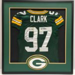 Framed Jersey Green Bay Packers Clark