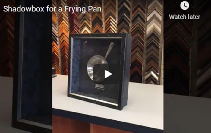 Shadowbox for a Frying Pan
