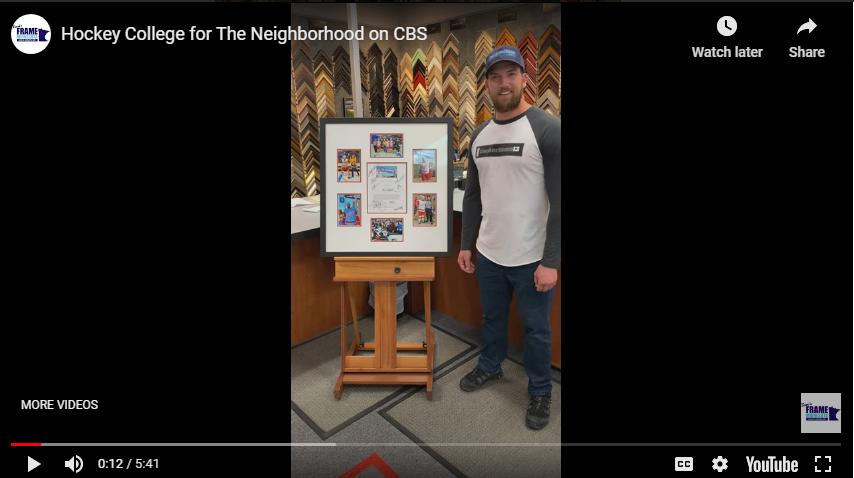 "Hockey Collage for ""The Neighborhood"" on CBS"