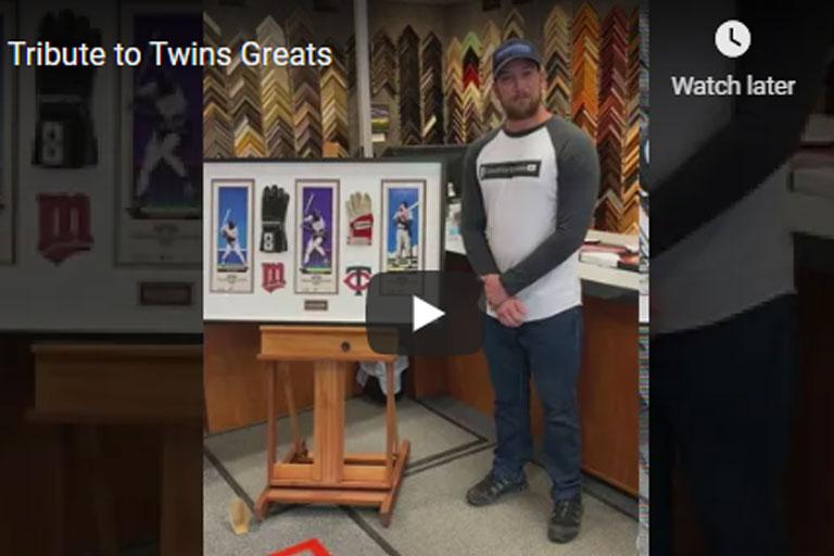 baseball memorabilia framing