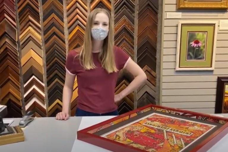 An Artist's Touch to a Custom Frame
